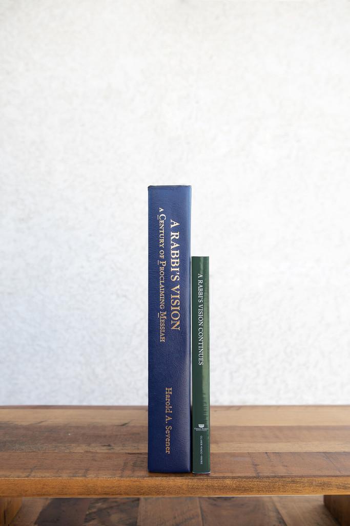 2 Book Set: A Rabbi's Vision + A Rabbi's Vision Continues