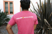 """Follow Messiah""  Red T-Shirt"