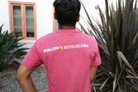 """""""Follow Messiah""""  Red T-Shirt"""
