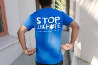 """""""Oppose Antisemitism"""" Blue T-Shirt"""