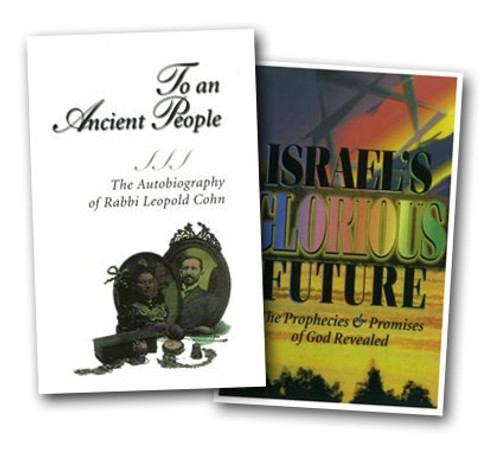 "2 Book Special: 3037 ""To An Ancient People"" + 3038 ""Israel's Glorious Future"""