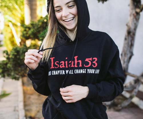 Isaiah 53 Hooded Sweatshirt
