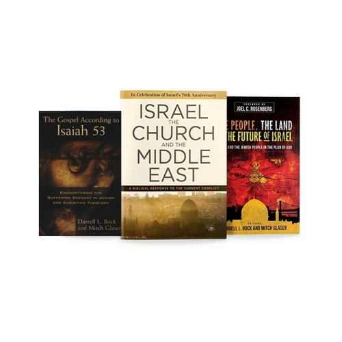 Future of Israel - 3 Book Special Package: Israel, the Church, and the Middle East + The People, the Land and the Future of Israel + The Gospel According to Isaiah 53