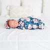 Watercolor Robe & Swaddle Set