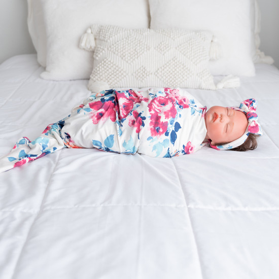 Lindsey Robe + Kennedy Swaddle Set