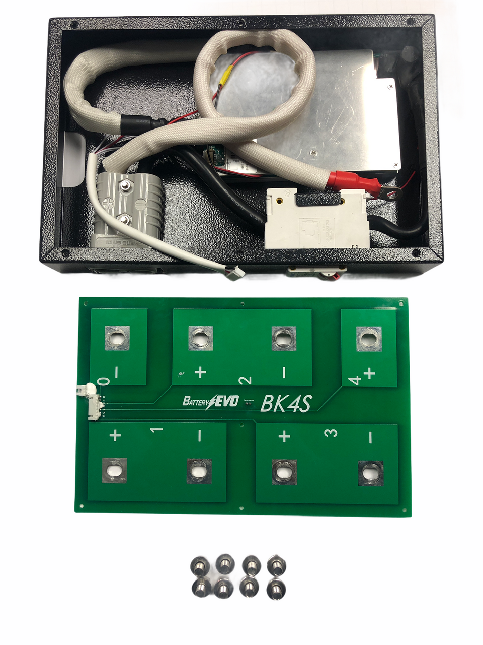 3 BMS kit 12V each connect them with supply series Cable.