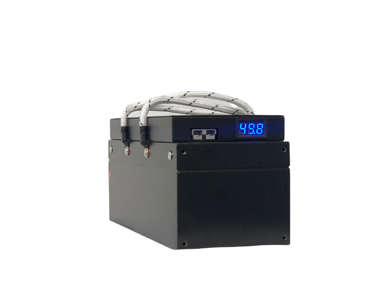 48V Lithium 49Ah 2 kWh 60A BMS Golf Cart, Solar