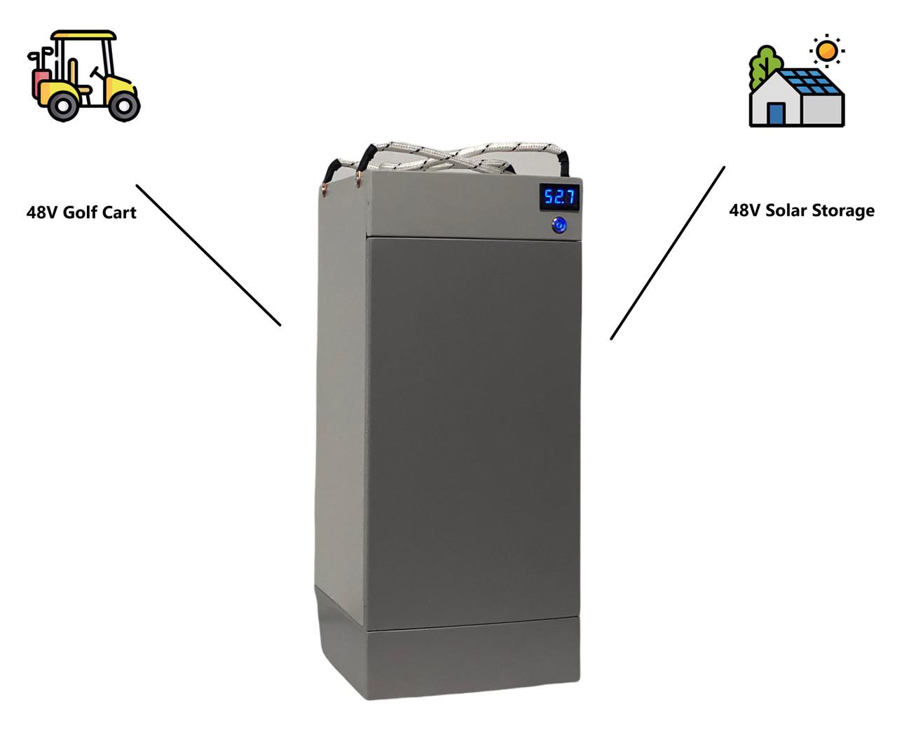 48V 100Ah 5.2 kWh 130A BMS