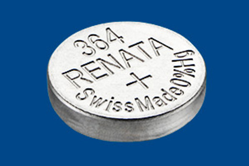 Renata 364 Silver Oxide Watch Batteries (10 Pack)