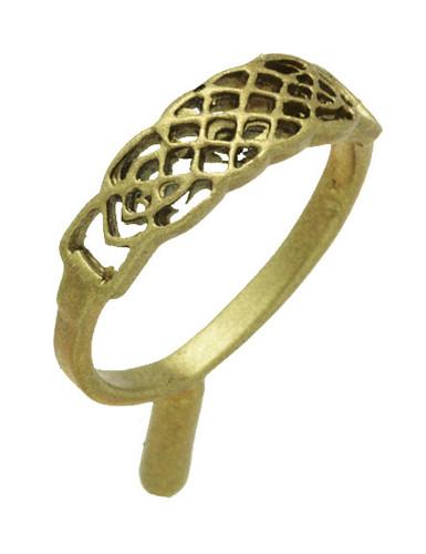 "1/4"" Filigree Celtic Ring"