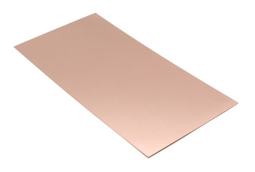 "Copper Sheet 22 Ga. 6"" x 12"""