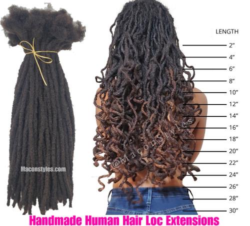 Hairitage Loc Bundle (Handmade Locs)