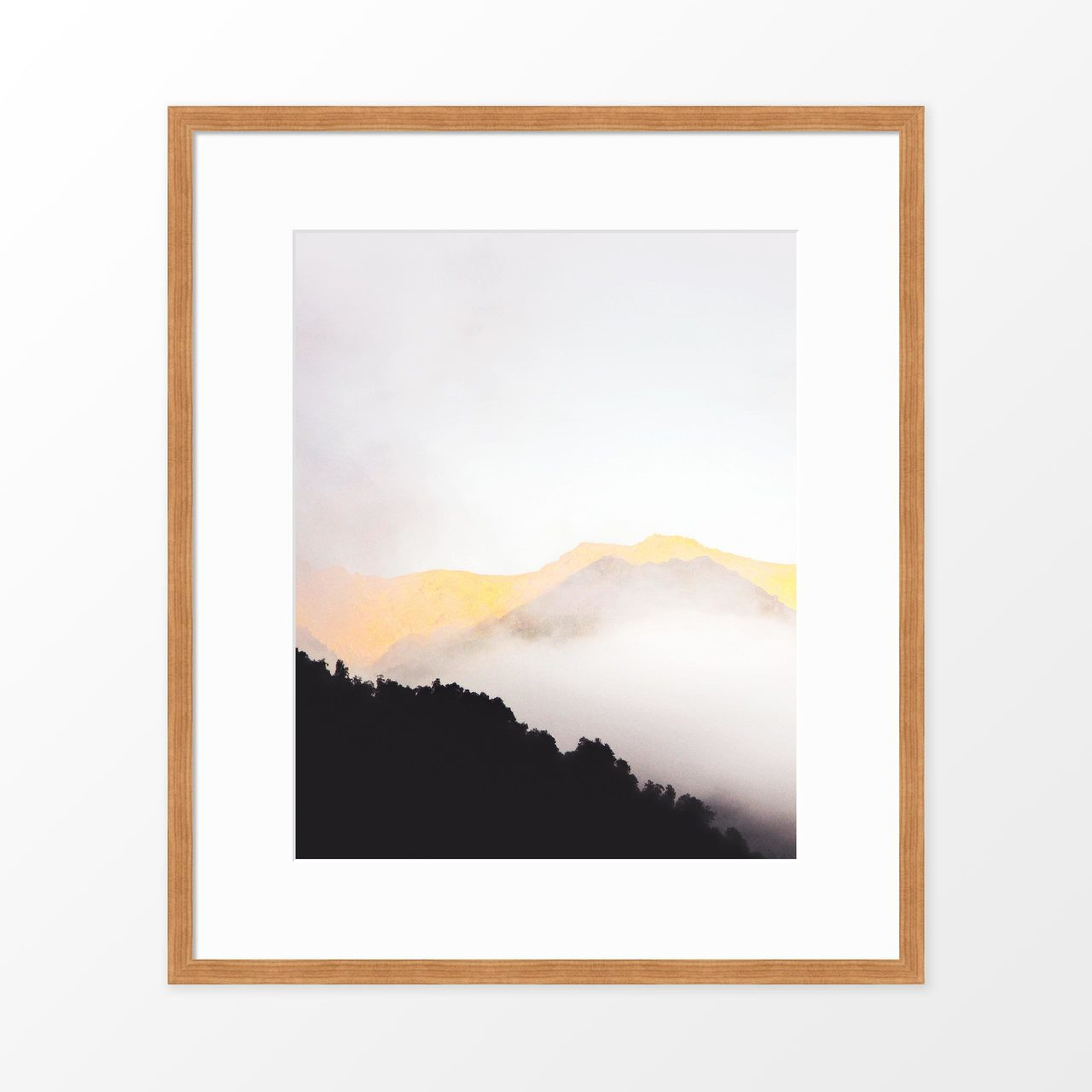 'Mountain Mist' Photography Art Print from The Printed Home