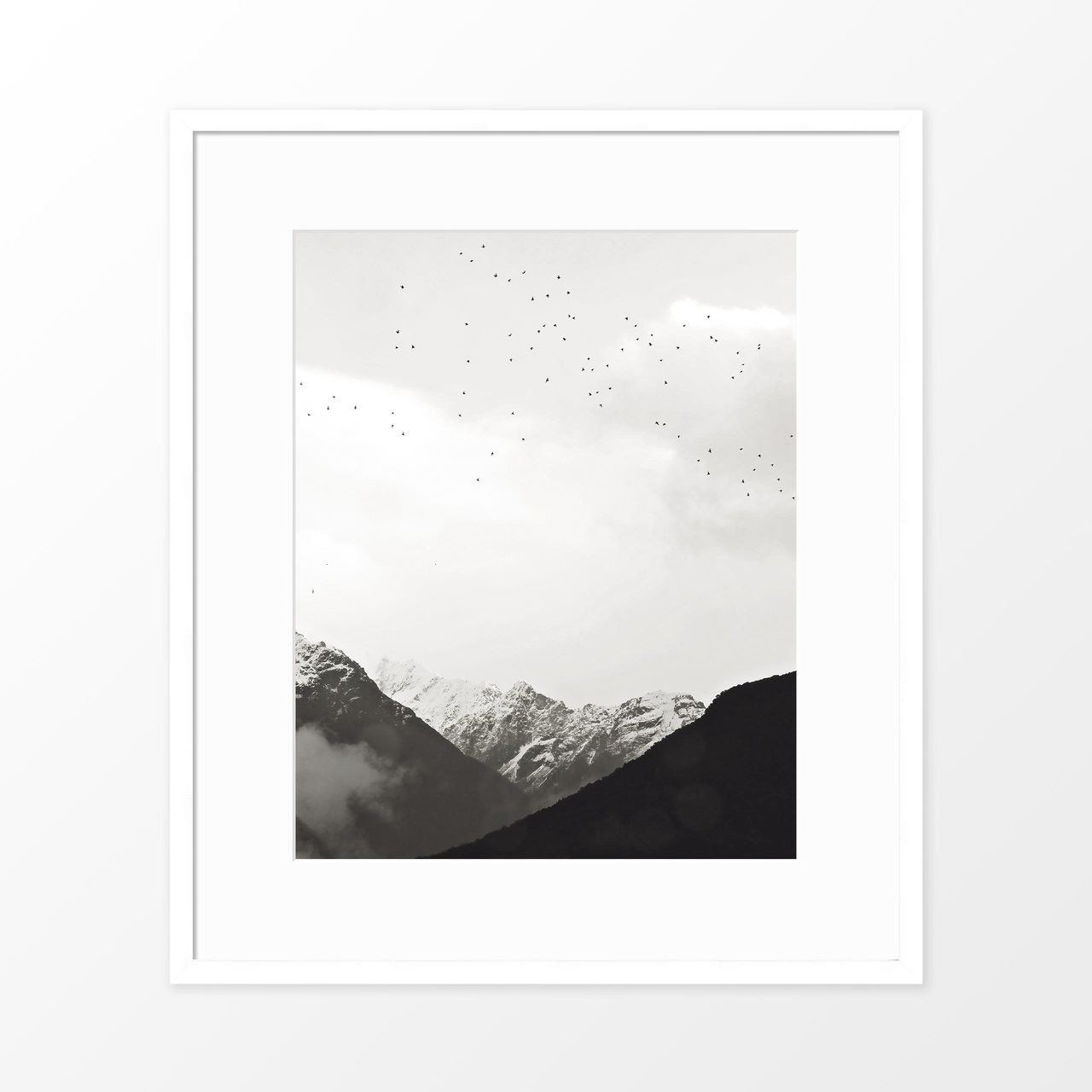 'Fly with Me' Photography Poster from The Printed Home
