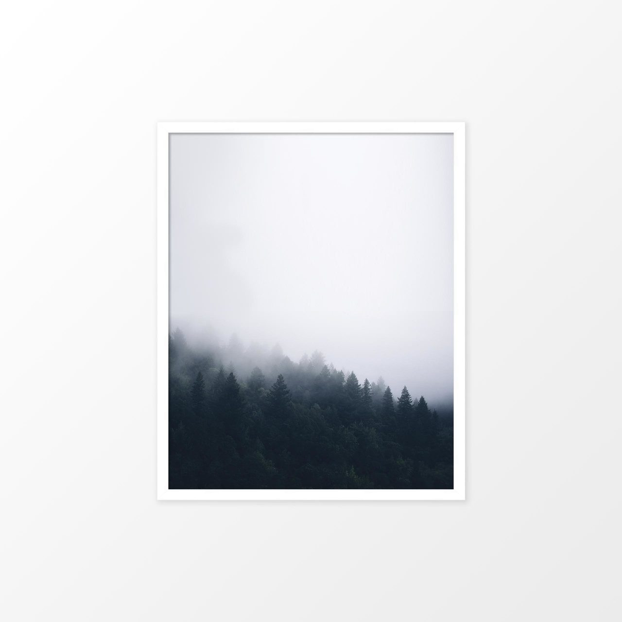 'Forest Mist I' Photography Poster from The Printed Home