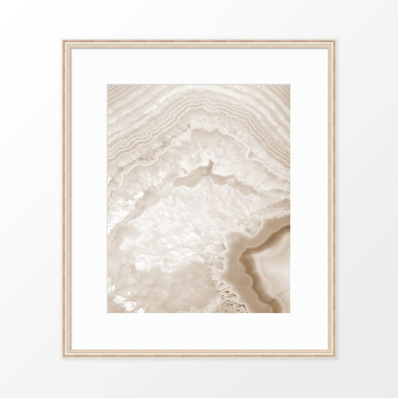'Agate I' Geode Photography Poster from The Printed Home