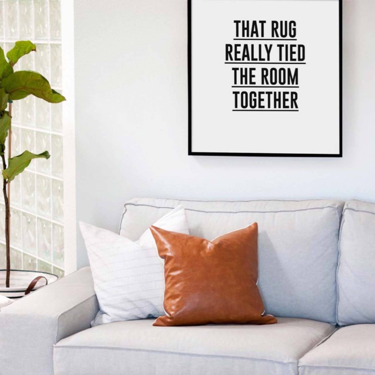 'The Big Lebowski II' Movie Quote Poster from The Printed Home