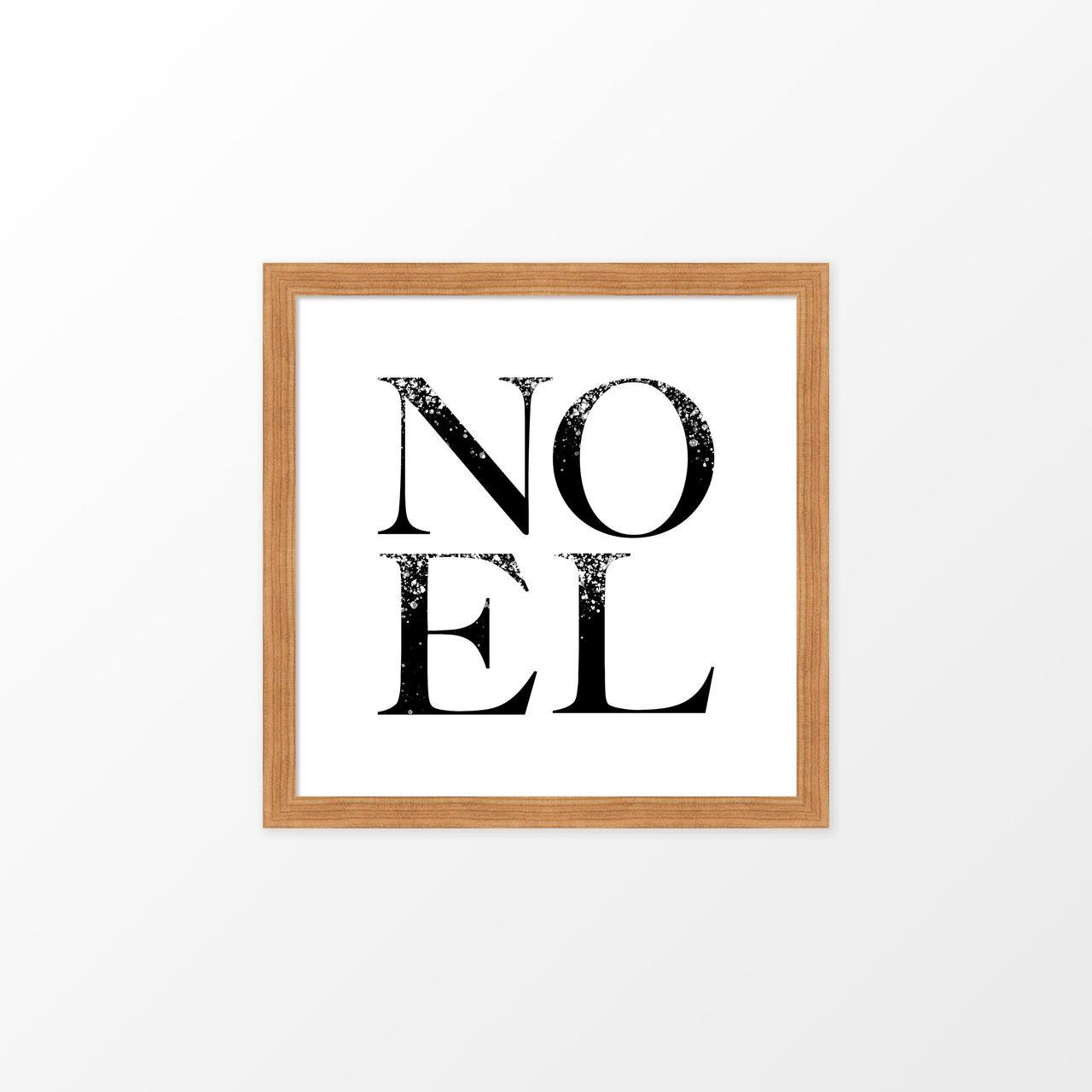 'Noel' Christmas Digital Art Print from The Printed Home (Printable)