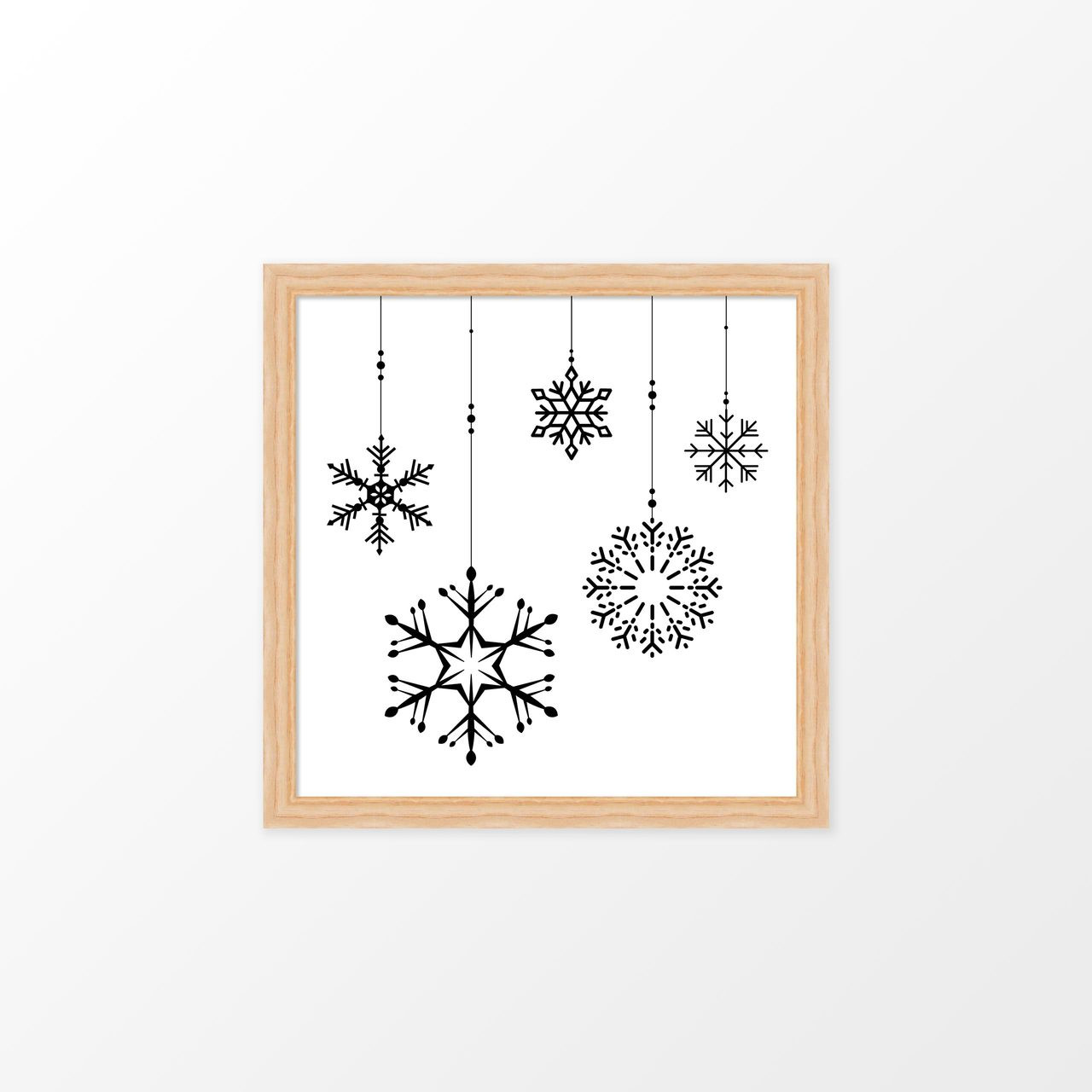 'Ornaments' Christmas Digital Art Print from The Printed Home (Printable)