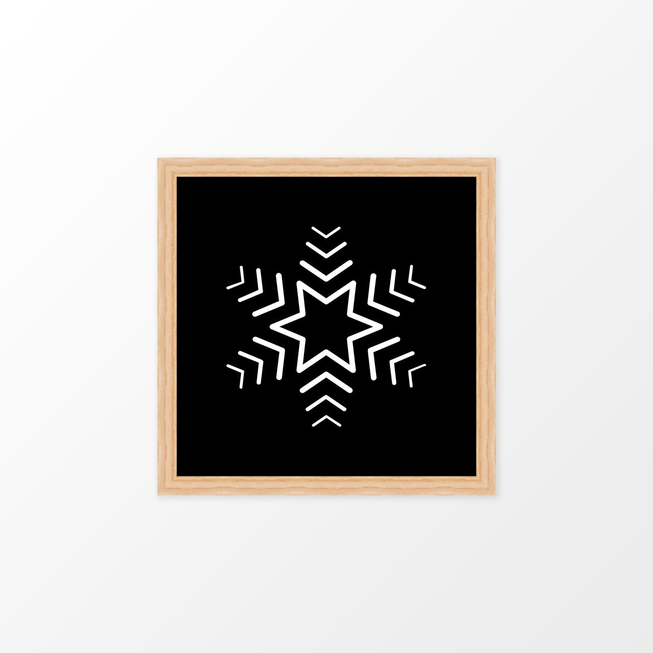 'Snowflake' Christmas Digital Art Print from The Printed Home (Printable)