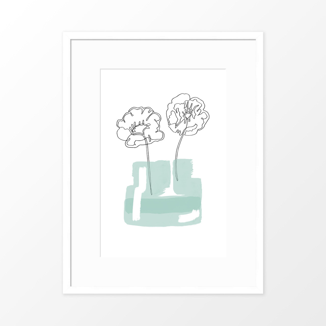 'Poppy Jar' Original Art Print from The Printed Home (Printable)