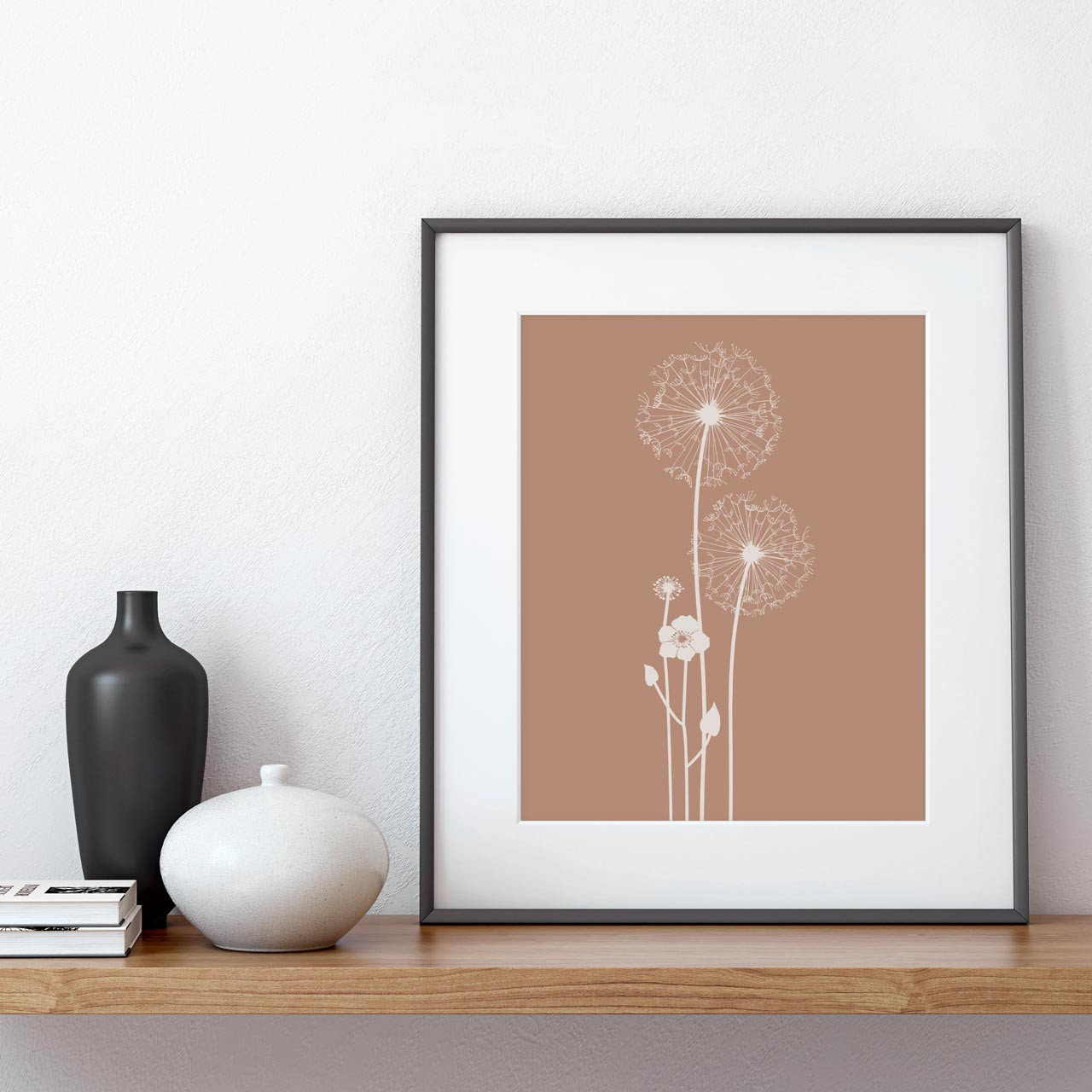 'Dandelions' Art Print from The Printed Home