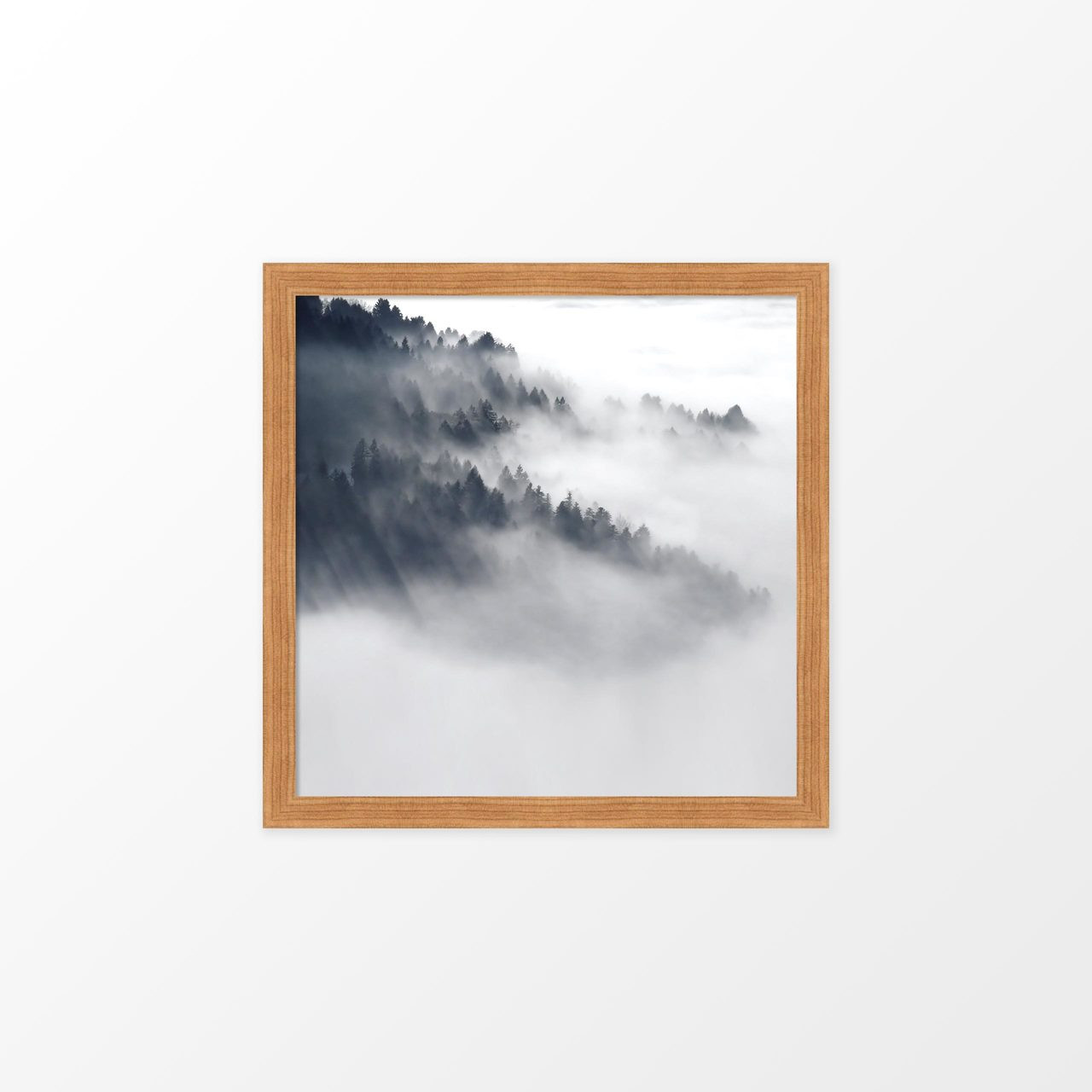 'Forest Mist II' Photography Poster from The Printed Home (Printable)