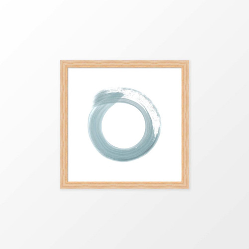 'Enso' Circle Art Print from The Printed Home