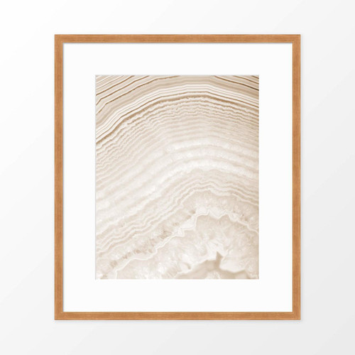 'Agate II' Geode Photography Poster from The Printed Home
