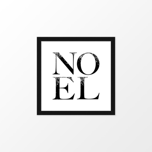 'Noel' Christmas Digital/Printable Art Print from The Printed Home