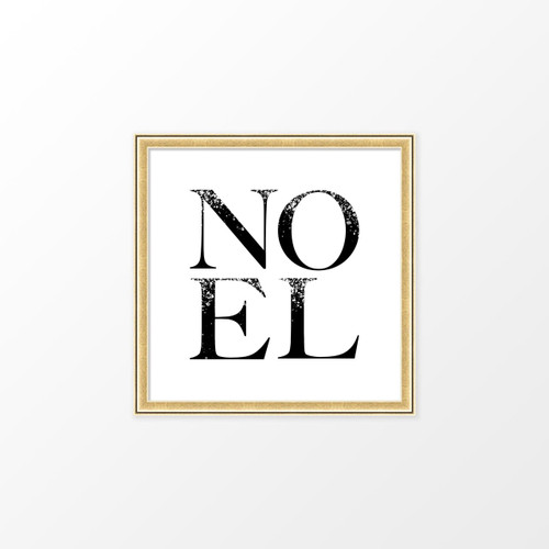 'Noel' Christmas Digital Art Print from The Printed Home (Printable)