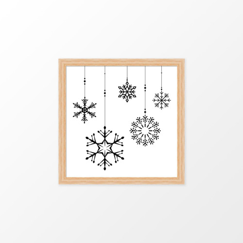 'Ornaments' Christmas Digital/Printable Art Print from The Printed Home