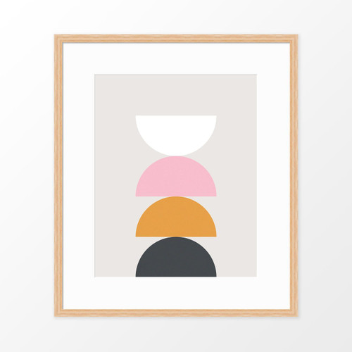 'Balance' Geometric Art Poster from The Printed Home (Printable)