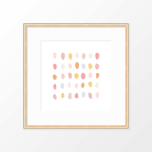 'Pebbles' Abstract Digital Art Print from The Printed Home (Printable)