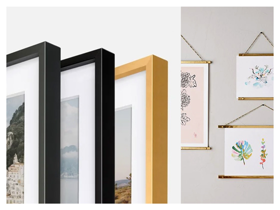 Recommended Frames from The Printed Home