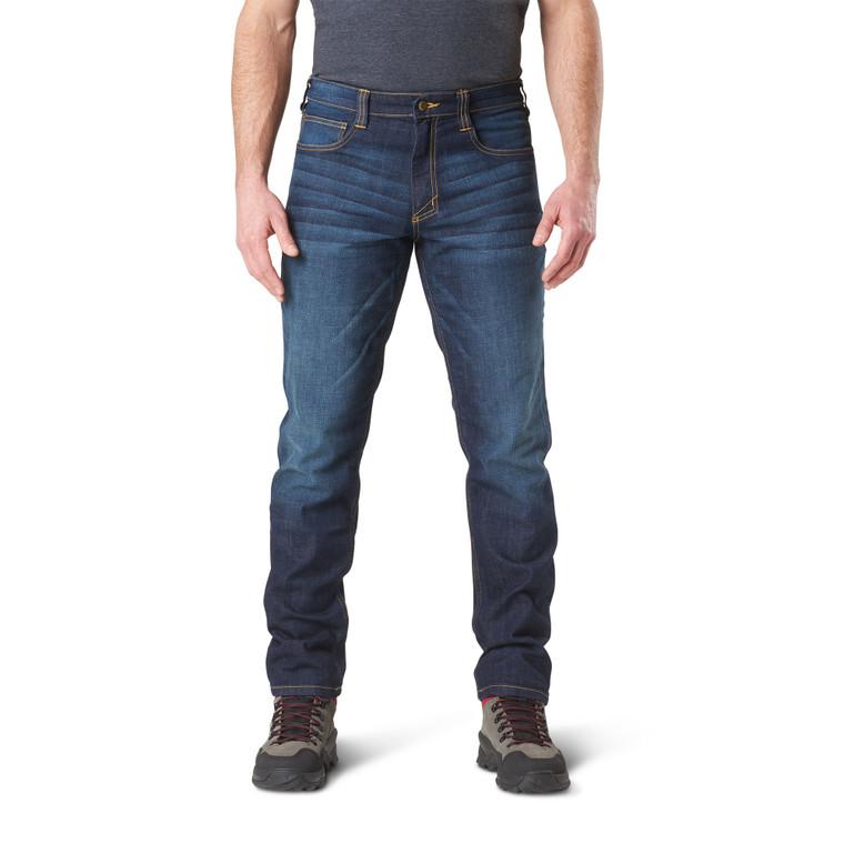 5.11 Defender-Flex Slim Jean, Dark Wash Indigo (5-74465-649)