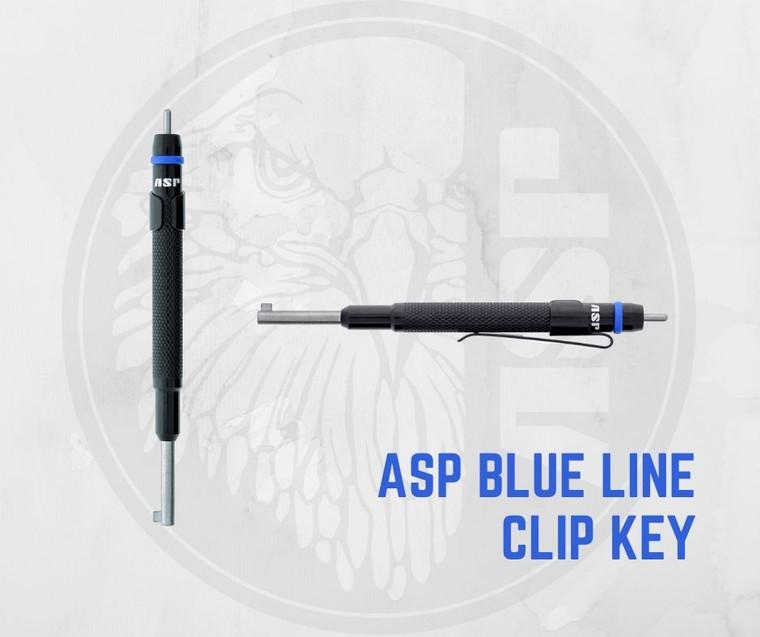 ASP Blue Line Clip Key Display (ASP-81925)