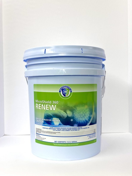 Microshield 360 Renew Disinfectant Cleaner 5 Gallon