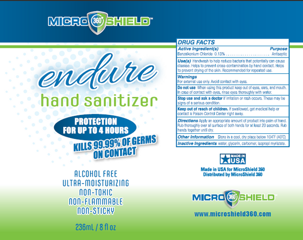 Microshield 360 Endure Hand Sanitizer - 8oz