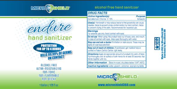 Microshield 360 Endure Hand Sanitizer - 1 Gallon