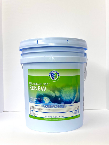 Microshield 360 Renew Disinfectant Cleaner - 5 Gallon