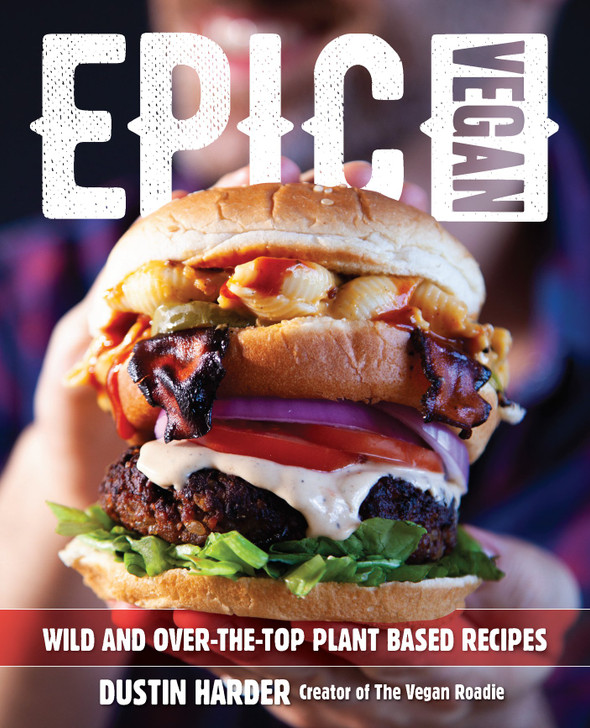 Epic Vegan by Dustin Harder (Bookcover)
