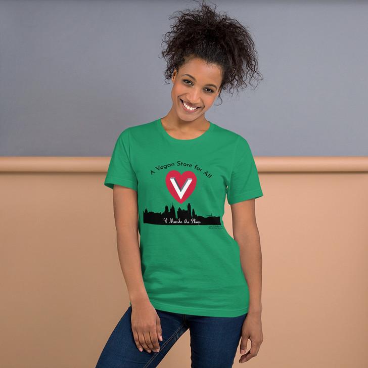 Vegan Store for All Short Sleeve Unisex T-Shirt