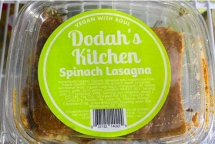Dodah's Kitchen Spinach Lasagna
