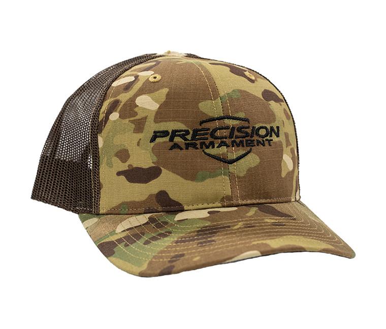 multi cam range hat, richardson, adjustable