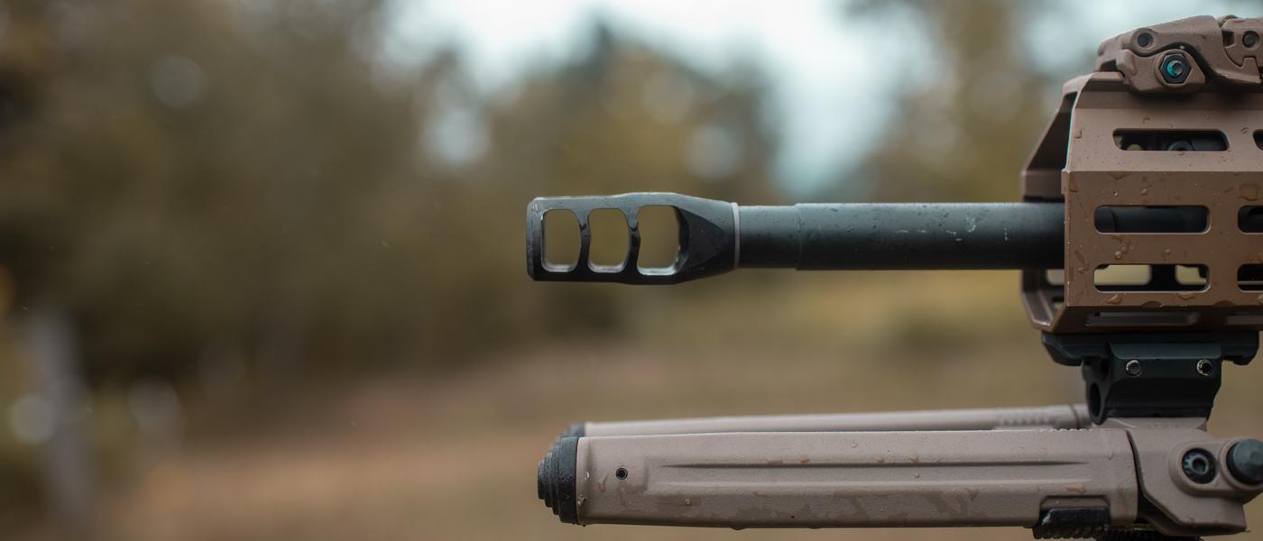 M11 SPR with Accu-Washer Shim on FN SCAR