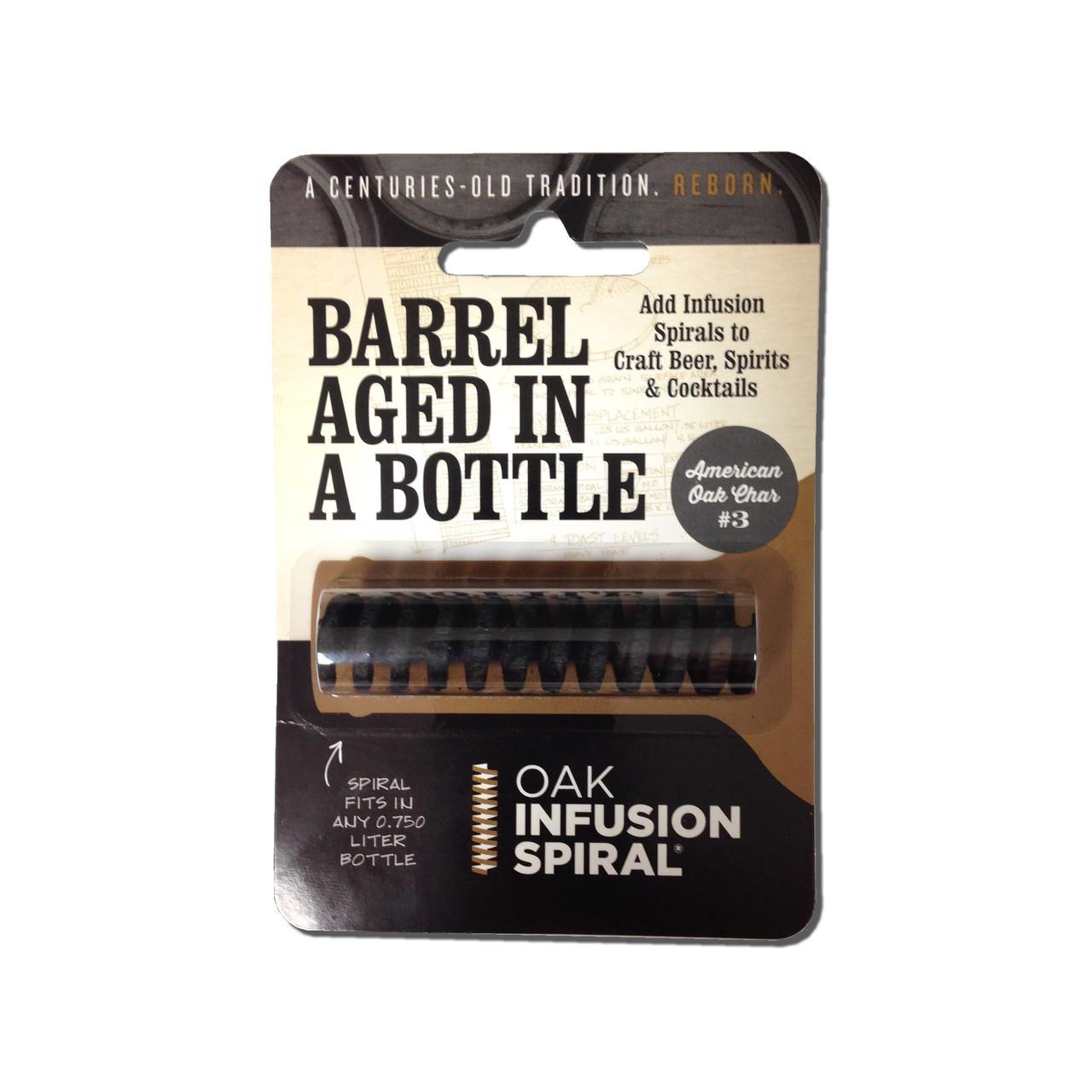 Infusion Oak Bottle Spiral - American Medium Toast