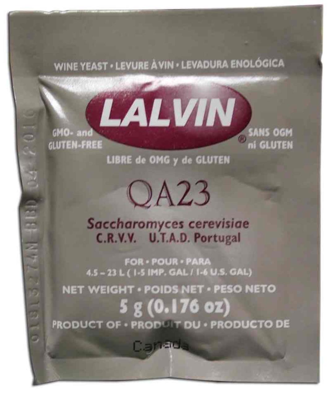 QA23 Lalvin Active Freeze-Dried Wine Yeast