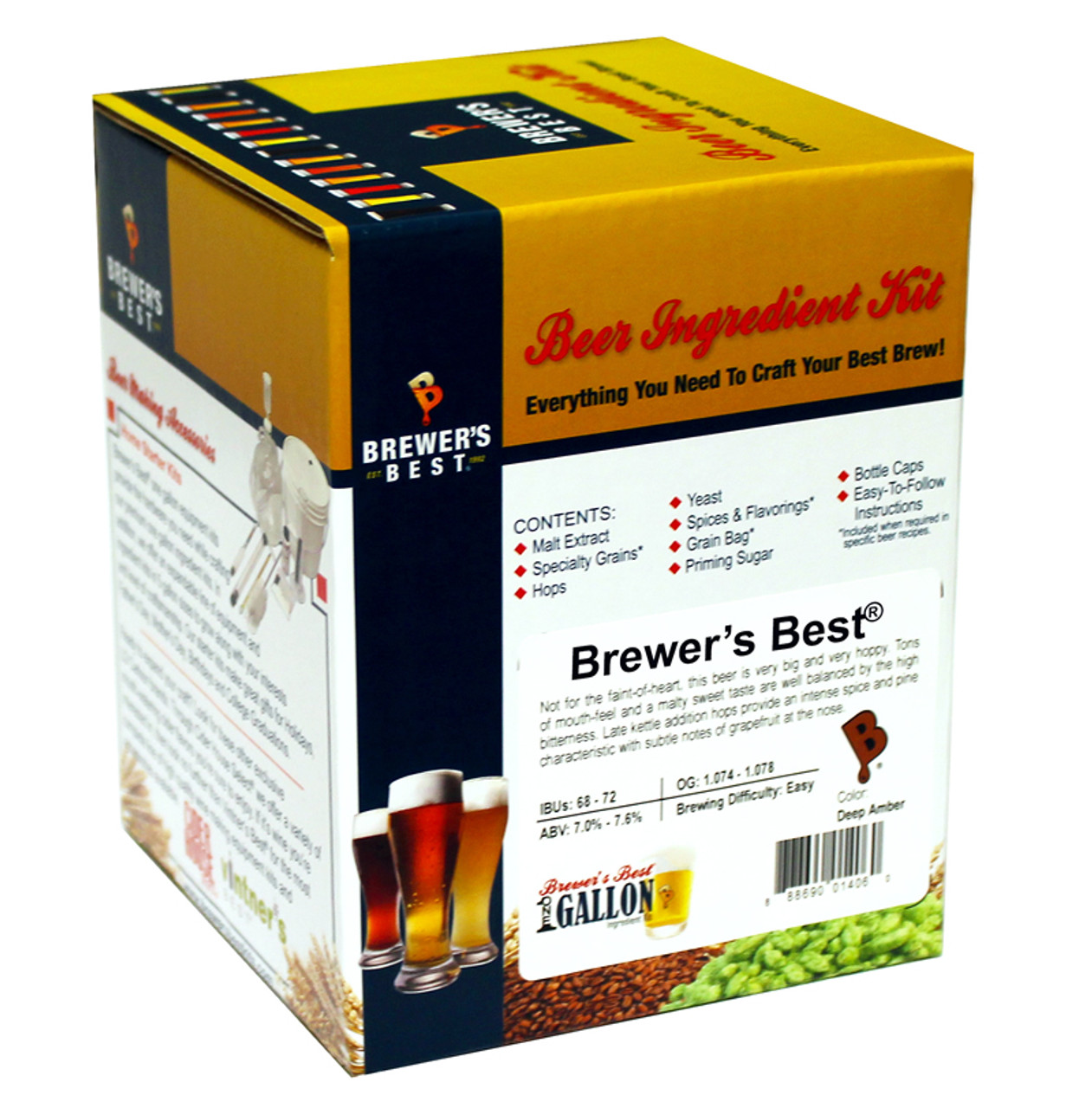 Pale Ale One Gallon Ingredient Kit Package