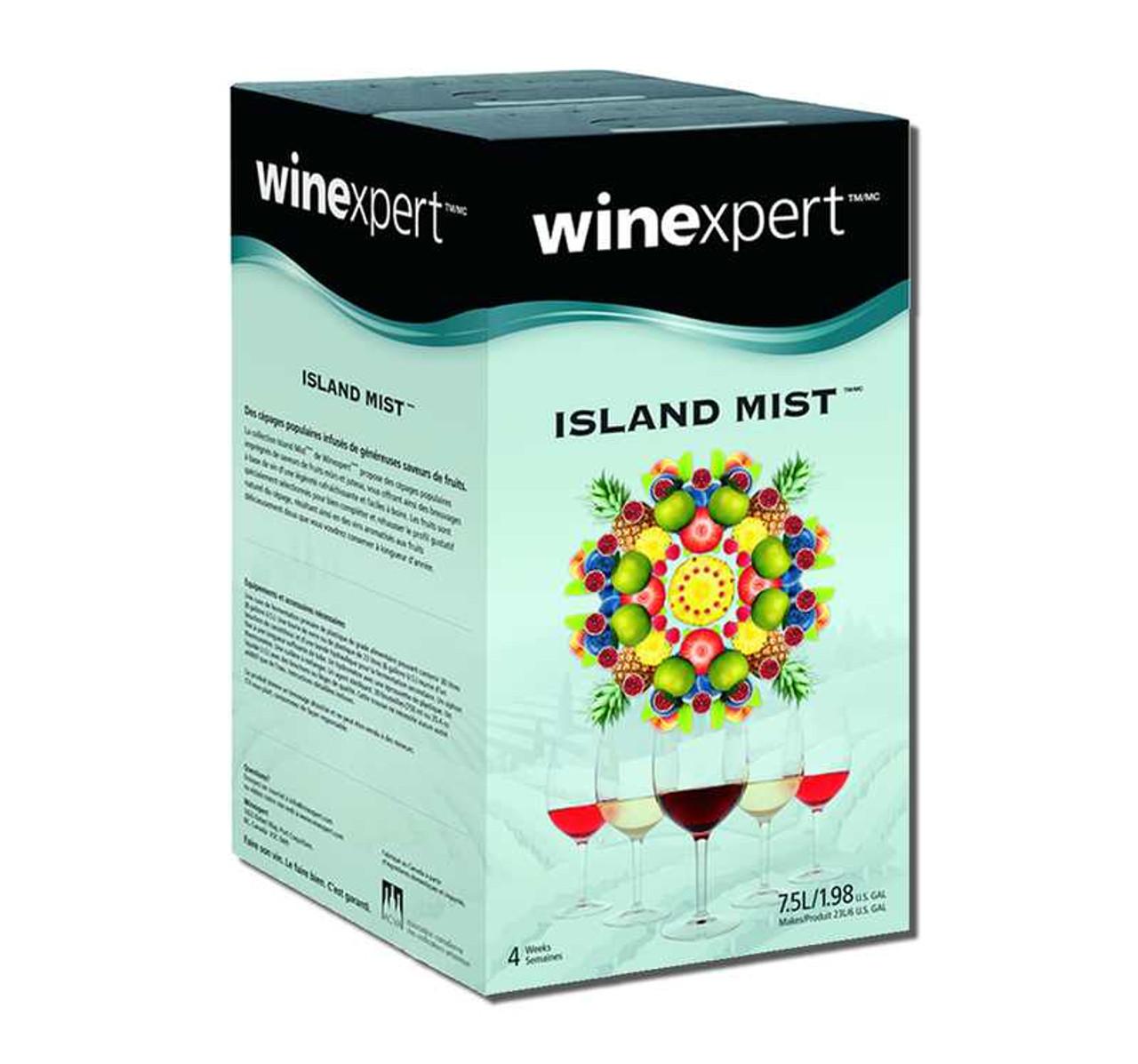 Strawberry White Merlot Island Mist Premium 7.5l Wine Kit